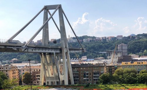 Crollo ponte Morandi: la Liguria non è spaccata in due!
