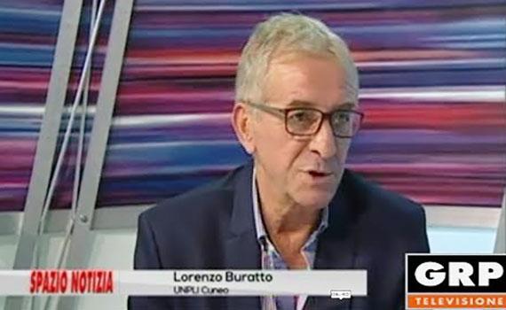 Lorenzo Buratto ospite a GRP Televisione