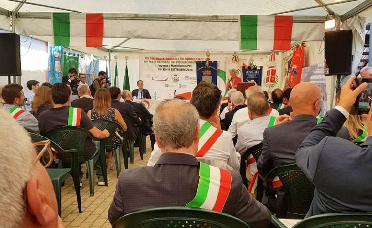 Dal 14 al 16 settembre la XIV Festa Nazionale dei piccoli Comuni d'Italia