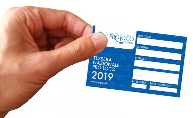 Parte il tesseramento 2019 per le Pro Loco
