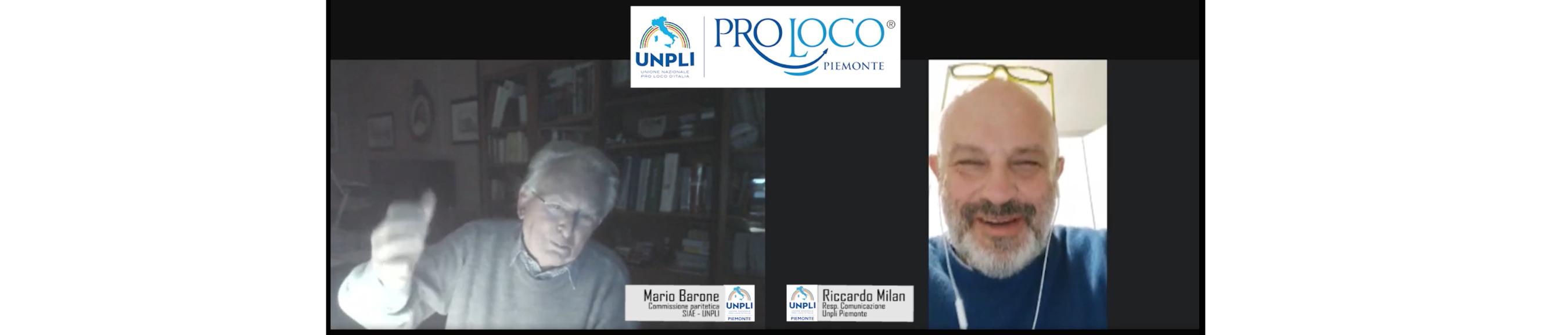 Le Pro Loco e i Diritti d'Autore. Intervista video a Mario Barone