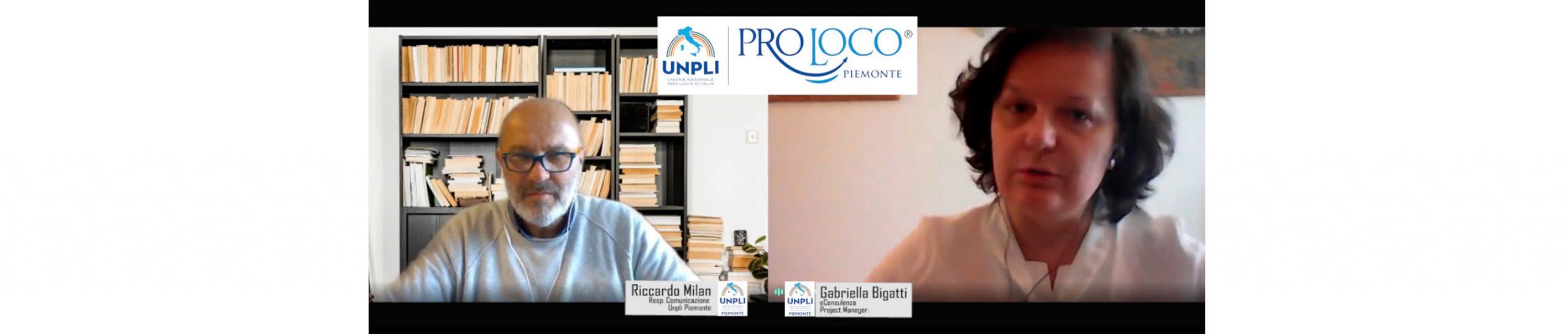 Sole o in Rete? Le Pro Loco e i Fondi Europei, il ruolo dell'UNPLI. Breve chiacchierata con Gabriella Bigatti, fondatrice, formatrice e progettista di Europrogettazione